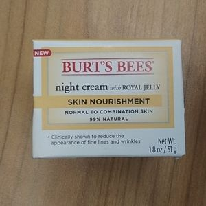 Burt bees night cream